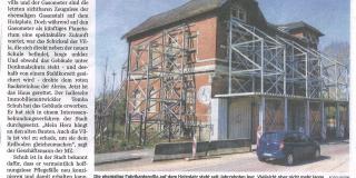 MZ – Holzplatz-Villa ist verkauft
